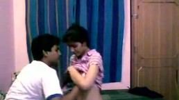 Indian College Teens Homemade sex with Dirty Hindi Audio