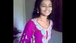 Desi teen girl undressing for hardcore sex with lover xxx porn