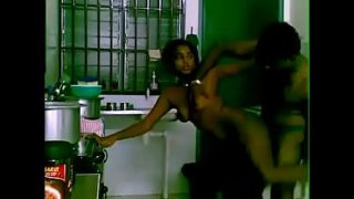 Tamilxxx Indian maid kitchen sex with owner homemade mms