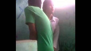 tubxporn Nepali girl in school uniform fucks in toilet xxx porn