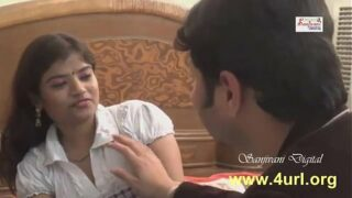 Desi hot Insurance agent get job offer from client for one night in Hindi