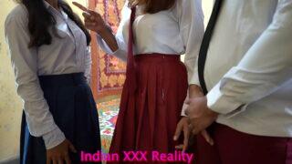 xxx indian school couple threesome porn video mms hidden cam